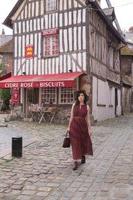 Beauty in Burgundy |