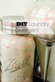 Pink DIY Laundry Det