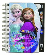 Frozen Notebook and