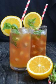 Homemade Orange Mint
