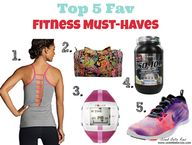 My top 5 fav fitness