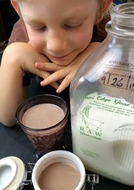 Raw Chocolate Milk