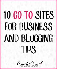 10 Go-To Sites For B