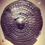 Bronze Shield in the