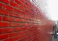 red glazed brick