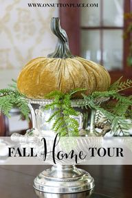 Fall Home Tour | Sim
