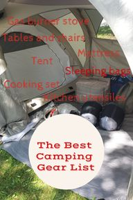 The Best Camping Gea