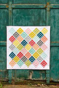 woodcut quilt // bij