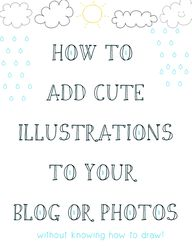 DIY: cute illustrati