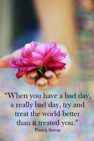"""When you have a bad..."