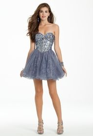 Strapless Lace and T