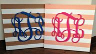 DIY: Monogram Wall A