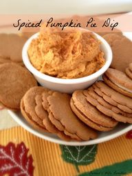 Easy Spiced Pumpkin