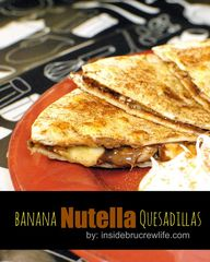 Banana Nutella Quesa