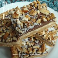 Nutty Toffee Bars -