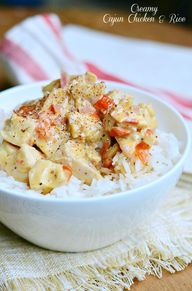 Creamy Cajun Chicken