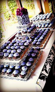 Cupcake display. Squ