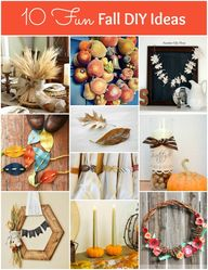 10 Fun Fall DIY Idea