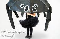 DIY umbrella spider