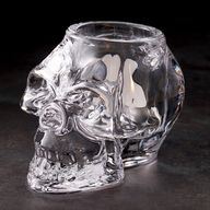 Skull Glass Candle V