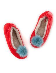 Velvet slipper #bode