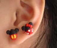 Disney Cupcake Earri