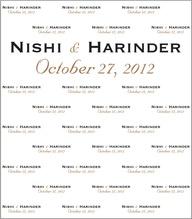 Nishi & Harinder's W