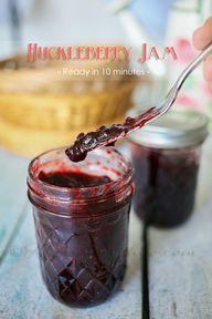 Huckleberry Jam {Rea