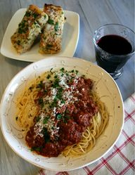 Bison Spaghetti Bolo