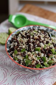 Black Bean and Rice