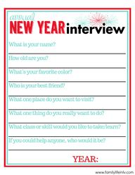 new Year's interview