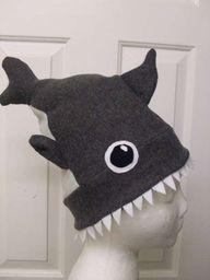 DIY Shark Hat (sewin