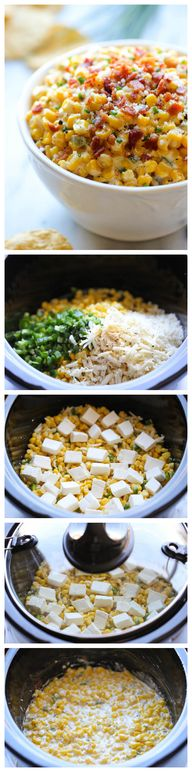 Slow Cooker Corn and