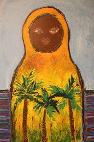 Painting Mirka Johan