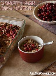 Cranberry Pecan Bake