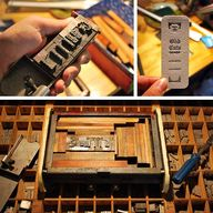 Creating letterpress