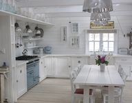 white cottage kitche