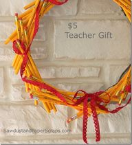 Pencil Wreath teache