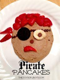 Pirate Pancakes - Ta