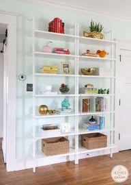 Colorful bookshelf d