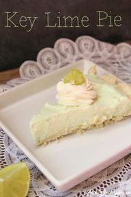 Simple Key Lime Pie
