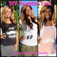 DIY Graphic Tees!!!