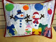 Let it Snow Pillow o