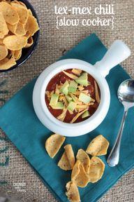 Tex-Mex Chili | Crum