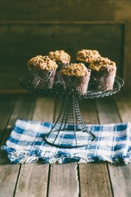 Triple Walnut Muffin