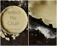 Perfect Pie Crust ~