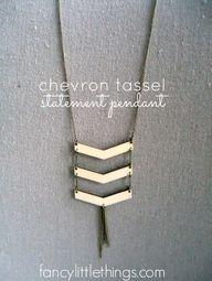 Chevron Tassel Stame