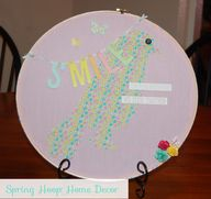 Spring Hoop Home Dec
