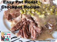 Pot Roast cooked in