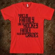 Hockey Family t-shir